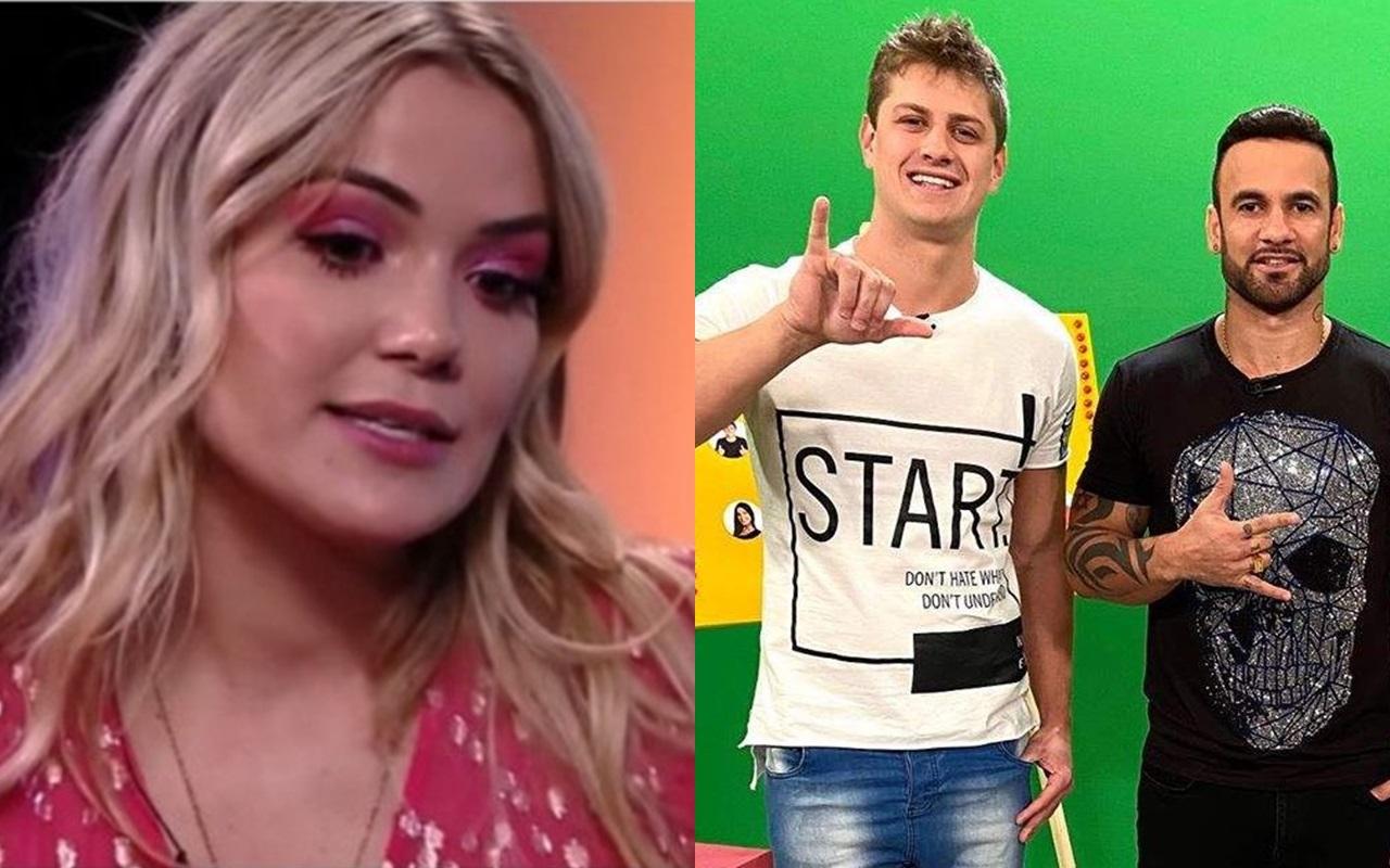 BBB20: Marcela criticou Lucas e Hadson durante uma live no Instagram (Foto: reprodução/Globoplay)