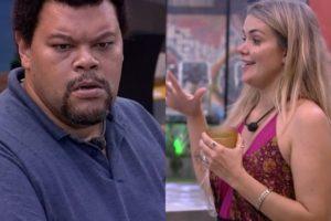 BBB20: Marcela e Babu discutem após jogo da discórdia (Foto: reprodução/Globoplay)
