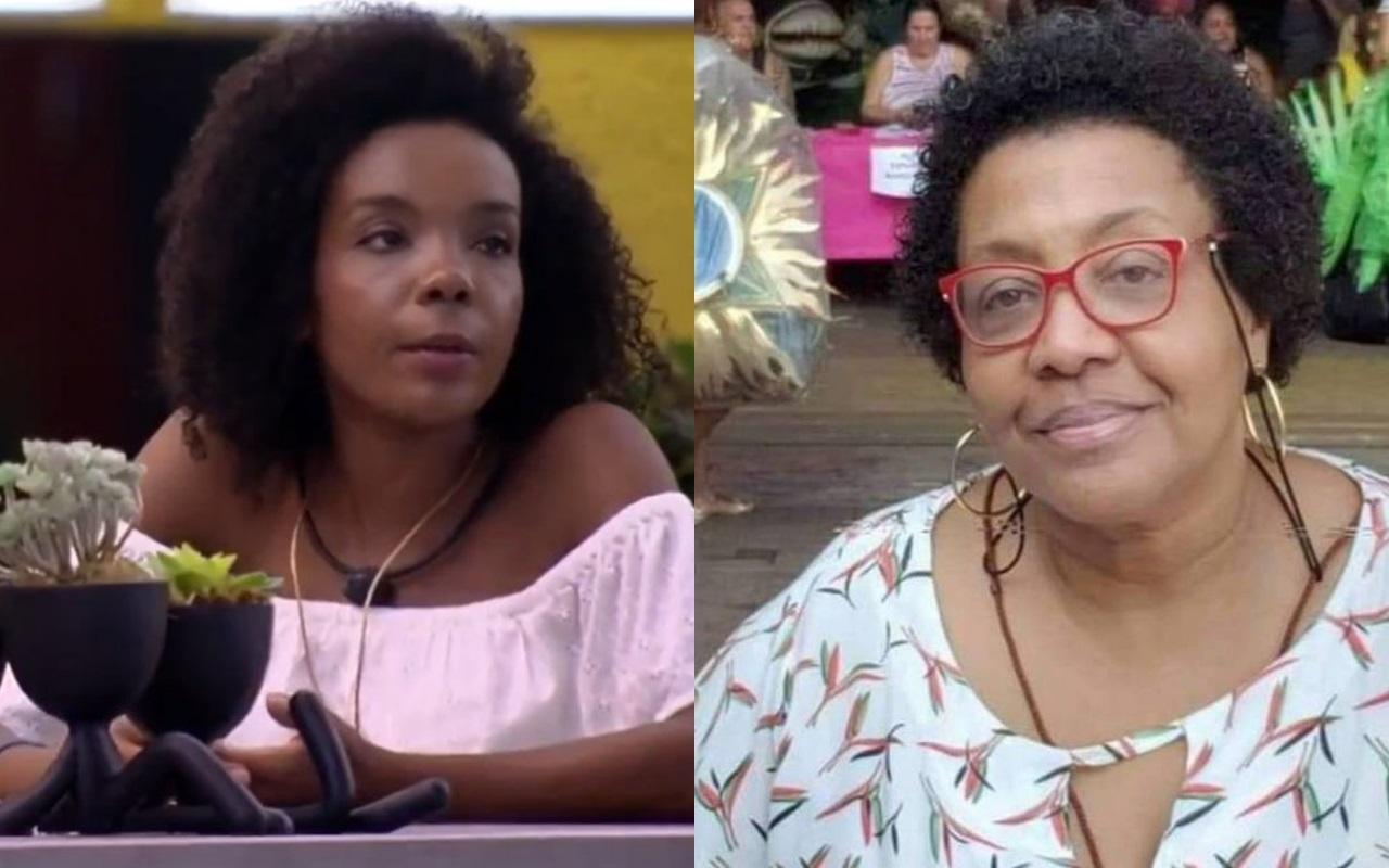 BBB20: Thelma sofre comentário racista de vice-presidente da Mangueira (Foto: reprodução/Globoplay)
