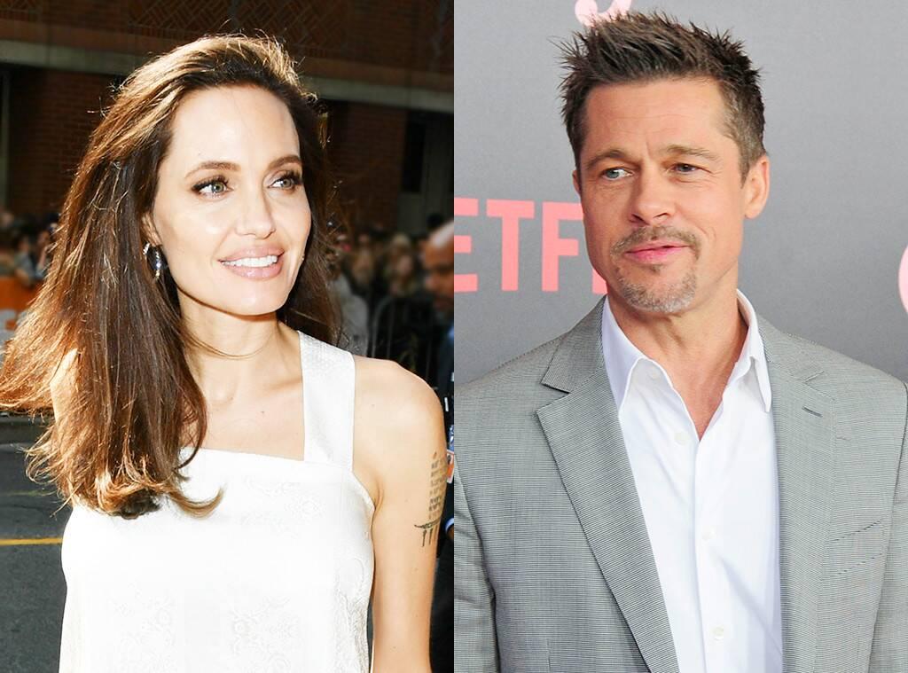 Angelina Jolie se reaproxima de Brad Pitt e adia divórcio (Foto: Reprodução)