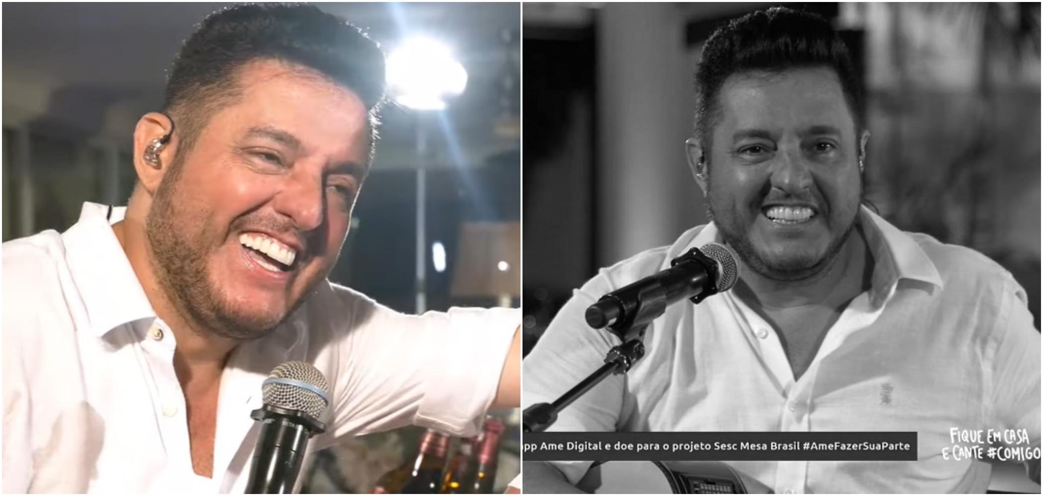 Bruno, da dupla com Marrone, teria suposto filho fora do casamento, segundo internauta que disse que o cantor teria engravidado sua irmã (Reprodução)