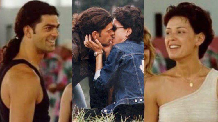 Carolina Ferraz e Edu Moscovis fizeram sucesso em Por Amor (Montagem: TV Foco)