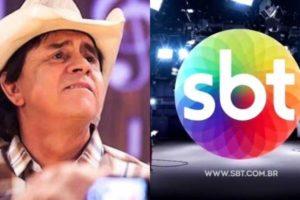 Chitãozinho abriu processo contra Hebe Camargo em 2000, depois que sua namorada foi ofendida ao vivo pela apresentadora no SBT (Montagem: TV Foco)