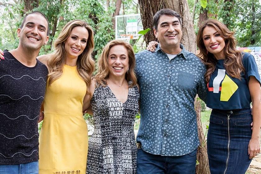 Os apresentadores do programa É de Casa, da Globo - Foto: Divulgação