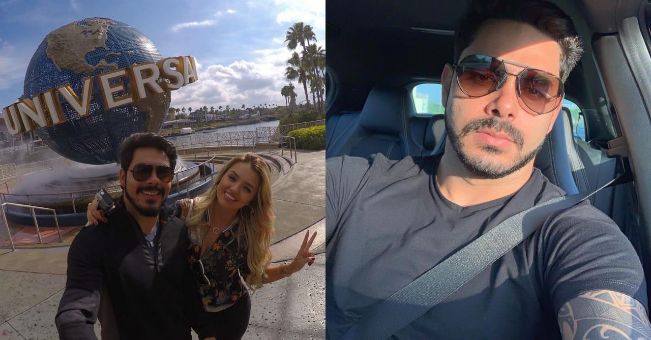 Rodolffo Matthaus, ex-marido de Rafa, defendeu a sister em post feito em seu instagram (Foto: Reprodução/Instagram)