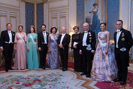 Família real da Suécia está de luto após morte da filha do príncipe Carl Bernadotte, Catharina Nilert (Foto: Reprodução)