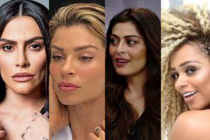 Grazi Massafera, Cleo Pires e famosas que já revelaram sobre vida sexual (Foto: Montagem TV Foco)