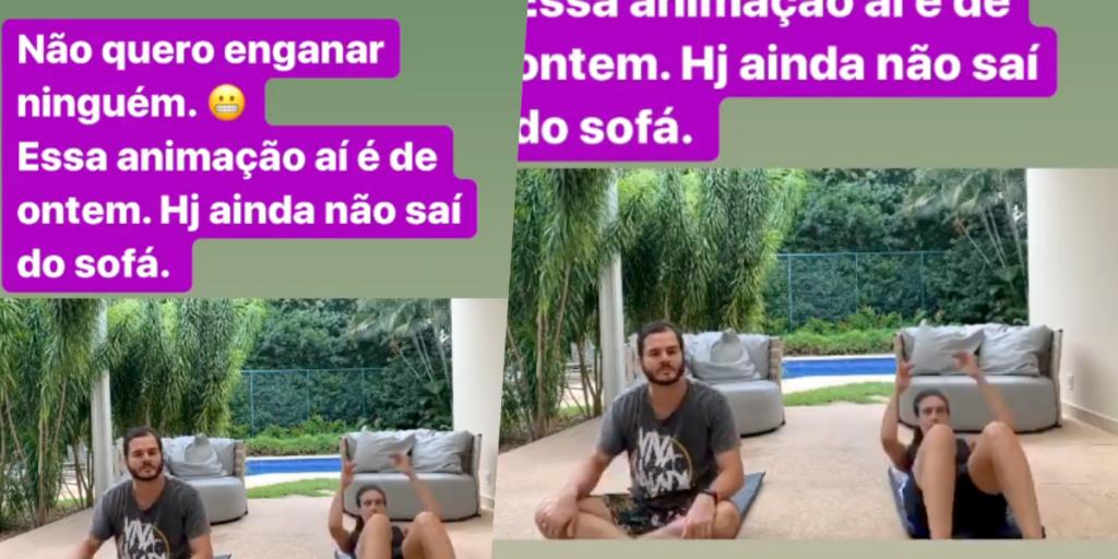 Fátima Bernardes falou que não iria engana ninguém (Foto montagem: TV Foco)