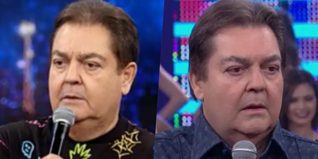 Faustão surgiu diferente na Globo (Foto montagem: TV Foco)