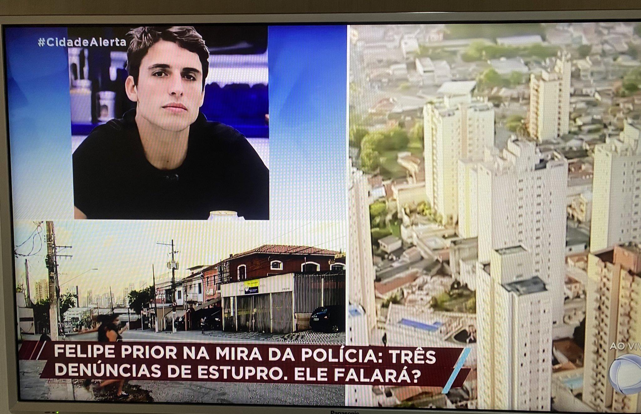 Felipe Prior é destaque no Cidade Alerta (Foto: reprodução)
