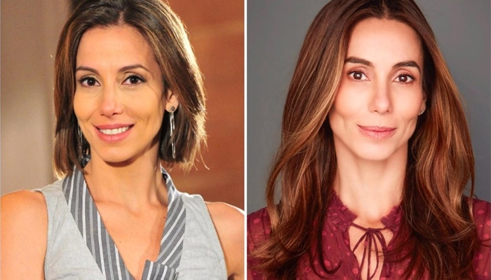Tania Khalill, que está no elenco de Fina Estampa, hoje mora fora do país (Foto: Globo/João Miguel Junior/Reprodução /Instagram)