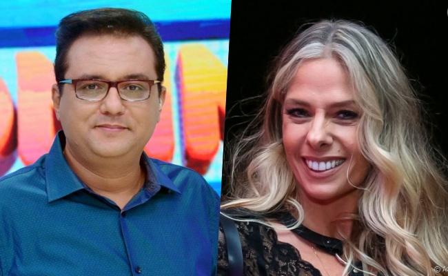 Adriane Galisteu e Geraldo Luís fazem live e falam sobre retorno da apresentadora à TV (Foto: Reprodução)