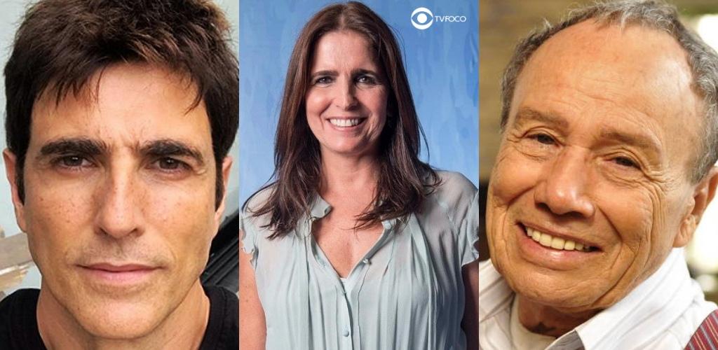 Reynaldo Gianecchini, Stênio Garcia e Malu Mader foram atores da Globo