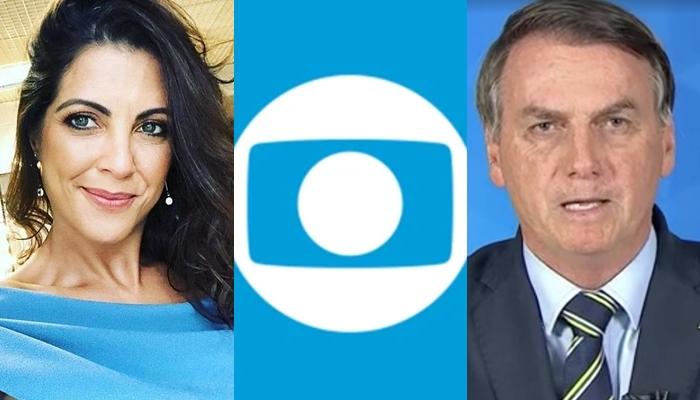 Thalita Rebouças, apresentadora do The Voice Kids na Globo, teve imagem usada em site pró-Bolsonaro (Foto: Reprodução/Globo/Montagem TV Foco)