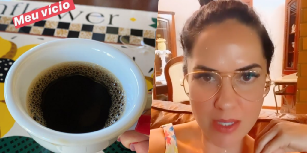 Graciele Lacerda, esposa de Zezé, teve vício divulgado (Foto montagem)