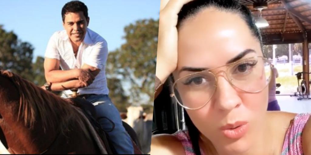 Graciele Lacerda falou de culto em meio a polêmicas com Zezé (Foto montagem: TV Foco)