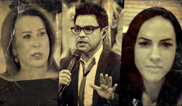 Graciele Lacerda tem passado polêmico com Zezé enquanto ele ainda era casado com Zilu (Foto: Reprodução)