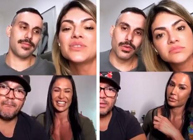 Gracyanne Barbosa e Belo voltaram a revelar segredos da intimidade (Foto: Reprodução/ Instagram)