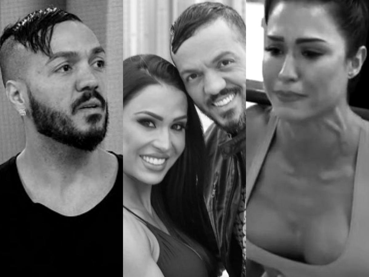 Gracyanne Barbosa e Belo tem separação revelada por sensitiva (Foto: Reprodução/Montagem TV Foco)