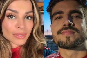 Grazi Massafera e Caio Castro estão morando juntos e atriz falou pela primeira vez sobre o namoro (Foto: Reprodução)