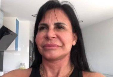 Gretchen negou, em entrevista à Sonia Abrão, que esteja com doença (Reprodução)