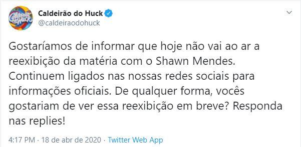 Caldeirão do Huck (Foto: Reprodução)
