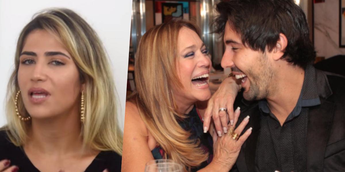 Jessica Costa, filha de Leonardo, é casada com Sandro Pedroso, que já teve uma relação longa com Susana Vieira (Foto montagem: TV Foco)