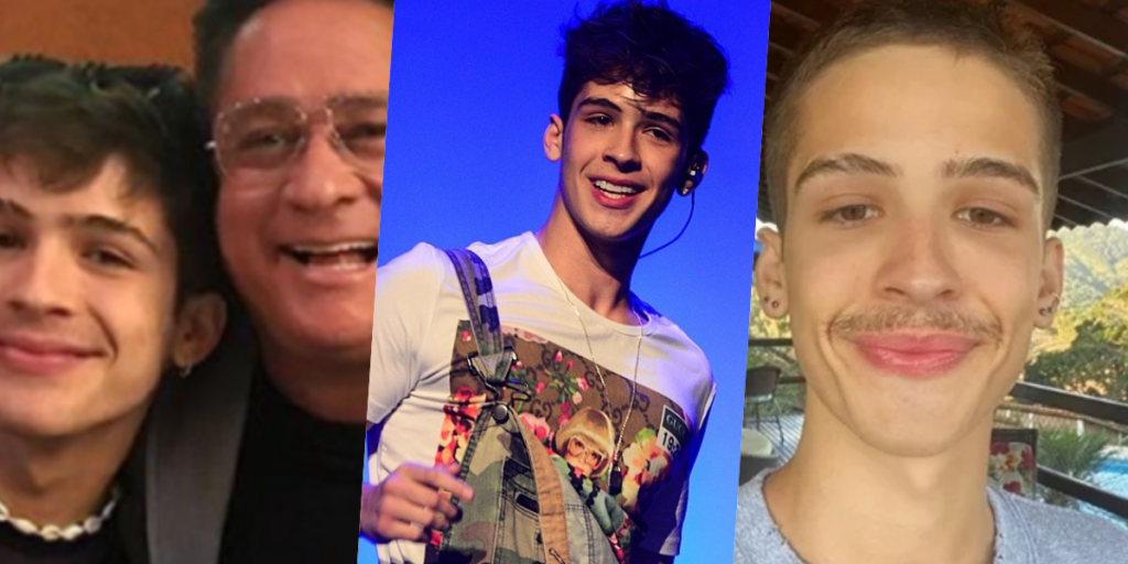 Filho de Leonardo, João Guilherme, tem dado o que falar (Foto montagem: TV Foco)
