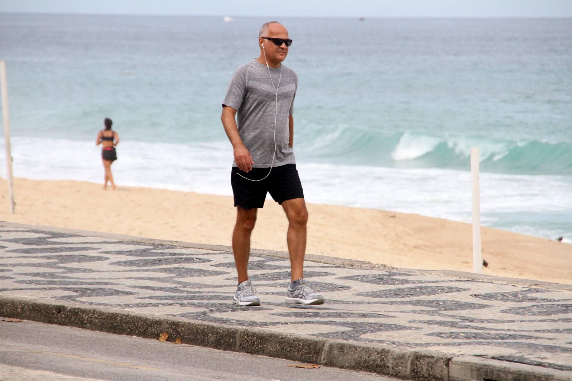 Amauri Soares, um dos chefões do jornalismo da Globo (Foto: AgNews)