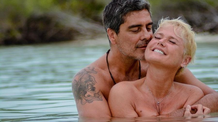 Xuxa e Junno Andrade estão juntos há muitos anos (Foto: Reprodução)
