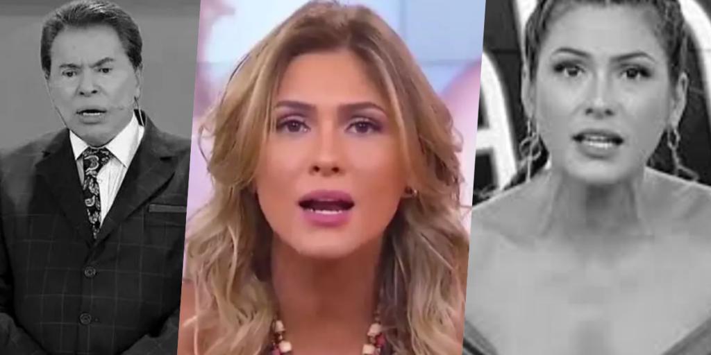Lívia Andrade está afastada do SBT após polêmica (Foto montagem: TV Foco)