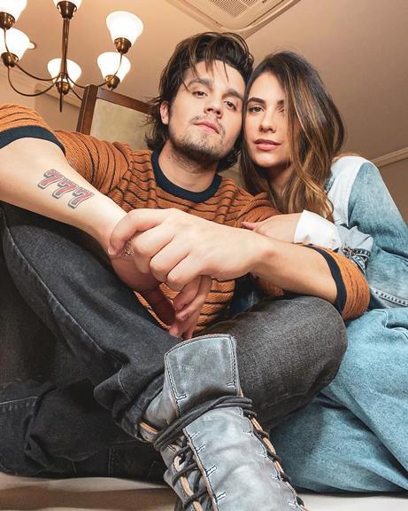 Luan Santana e a noiva, Jade Guimarães  (Foto: Reprodução/ Instagram)