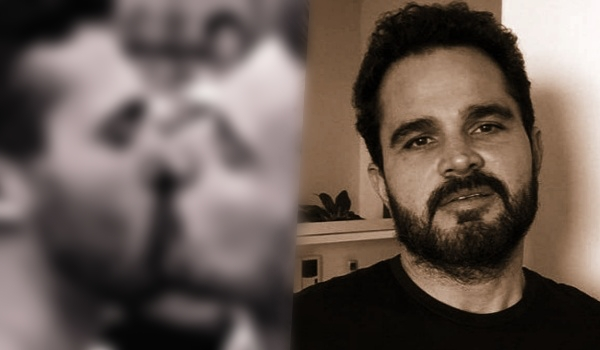 Luciano Camargo é acusado de 'mamar mamadeira' em vídeo revelador (Foto: Reprodução)