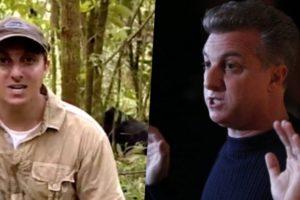 Luciano Huck durante viagem à Montanha dos Gorilas (Foto: Globo)