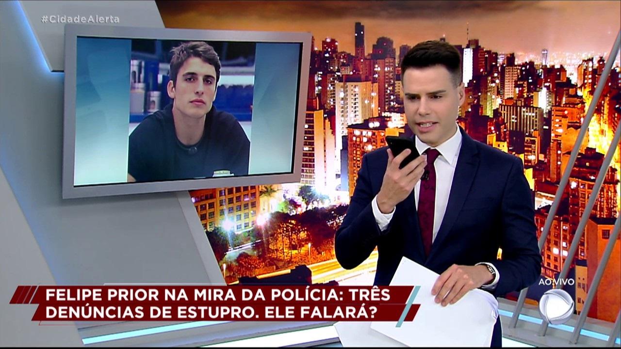 Luiz Bacci no 'Cidade Alerta' (Foto: reprodução/Record)