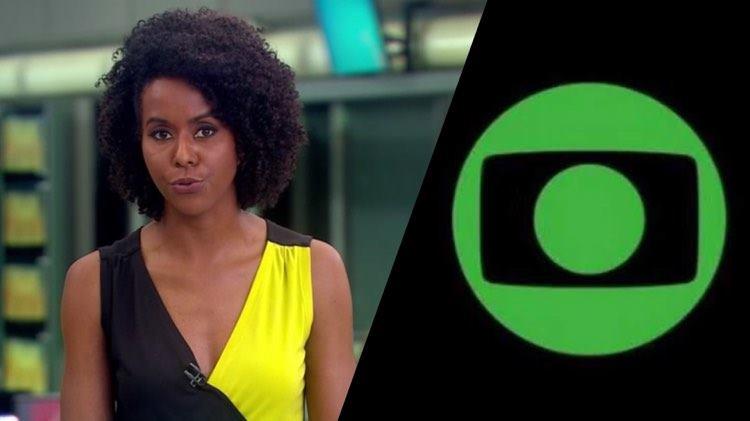 Maju Coutinho, tem a origem de seu apelido descoberta na Globo (Montagem: TV Foco)