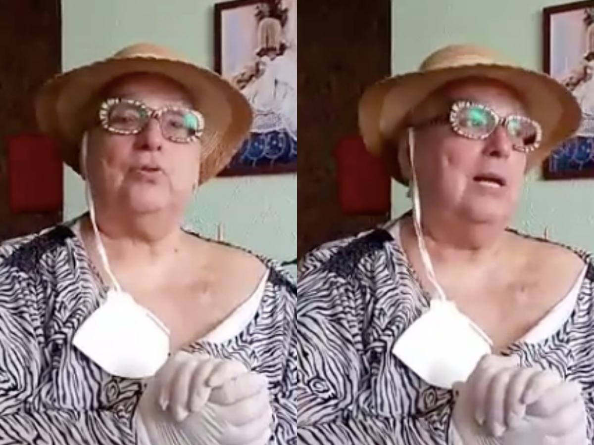 Ex-apresentadora do SBT faz vídeo sobre acidente (Foto: Reprodução/montagem TV Foco)