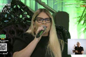 A live da cantora Marília Mendonça repercutiu nas redes sociais - Foto: Reproudção