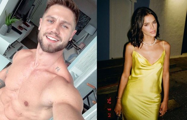 Jonas Sulzbach e Bruna Marquezine trocaram farpas nas redes sociais (Foto: Reprodução)