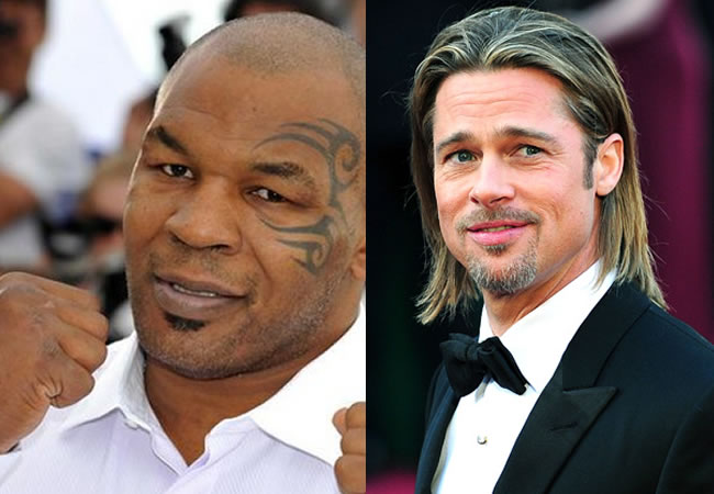 Mike Tyson talks about the first encounter he had with Brad Pitt, and continues to surprise us with the details (Photo: Playback)