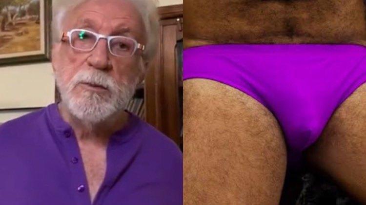 Moacyr Franco lembra história hilária de um amigo que usava técnica bizarra para aumentar as partes íntimas (Montagem: TV Foco)