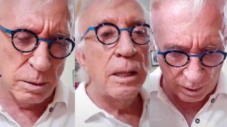 Moacyr Franco revela que famosa já foi responsável por ele passar fome (Montagem: TV Foco)