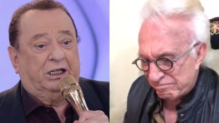 """Moacyr Franco revela mágoa de Rau Gil """"Nunca mais me ligou"""" (Montagem: TV Foco)"""