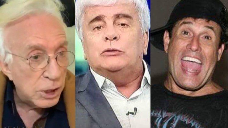 Moacyr Franco lembra de história envolvenso Wagner Montes e Sérgio Mallandro (Montagem: TV Foco)