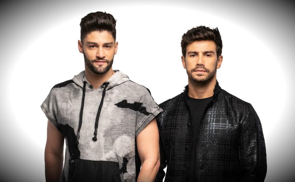 A dupla sertaneja Munhoz e Mariano (Foto: Reprodução)