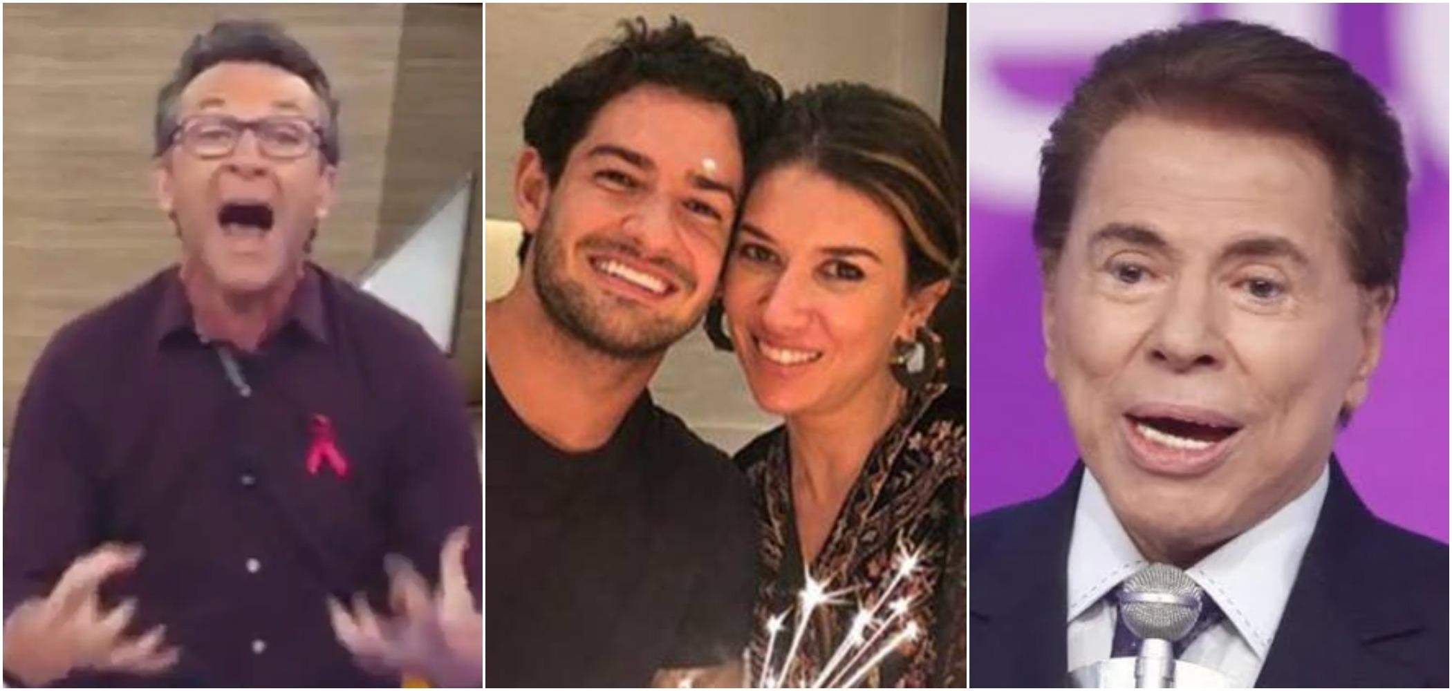 Neto criticou Pato e mando-o trabalhar com o sogro, Silvio Santos, pai de Rebeca Abravanel (Reprodução)