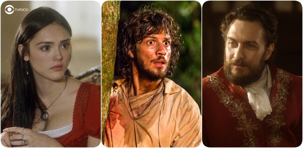 Anna, Joaquim e Thomas  de Novo Mundo