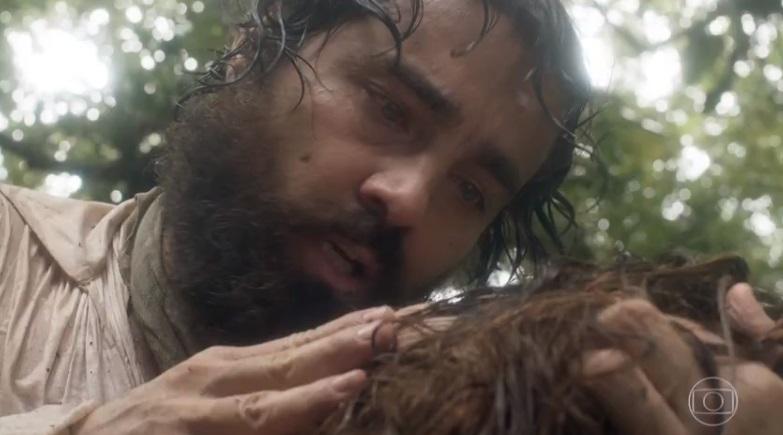 Ferdinando perde o seu grande amor em cena dramática de Novo Mundo