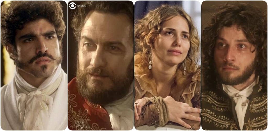 Pedro acaba com Thomas, Leopoldina se assusta com sogra e Joaquim se desespera em Novo Mundo