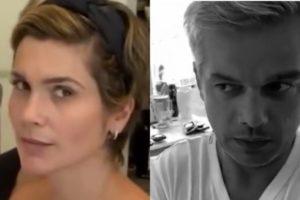 Filha de Flávia Alessandra e Otaviano Costa gravou um vídeo divertido para o Instagram (Montagem: TV Foco)